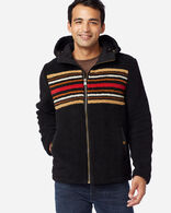 MEN'S DESCHUTES SHERPA JACKET IN BEECH STRIPE
