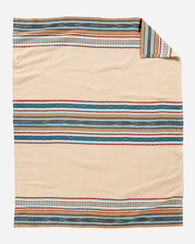 ESCALANTE RIDGE COTTON BLANKET, CAMEL, large