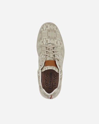 ALTERNATE VIEW OF WOMEN'S PENDLETON CANVAS SNEAKERS IN FEATHER HARDING
