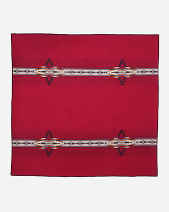 CHIEF STAR THROW, RED MULTI, large