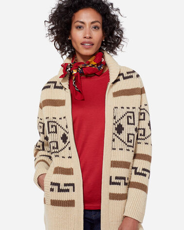 LONG WESTERLEY CARDIGAN