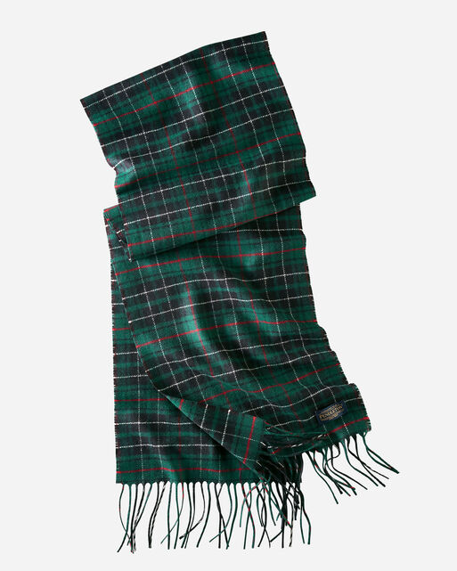 WHISPERWOOL MUFFLER IN MACAULAY HUNTING TARTAN