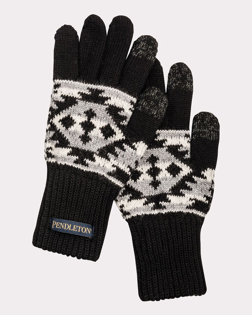 JACQUARD TEXTING GLOVES