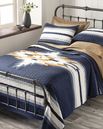 CHIEF STAR PIECED QUILT SET, , large
