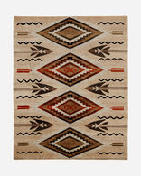 FATHER'S EYES RUG IN OATMEAL