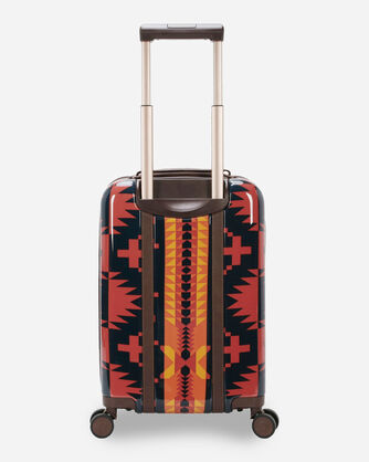 """ALTERNATE VIEW OF SPIDER ROCK 20"""" SPINNER LUGGAGE IN RUST/NAVY"""