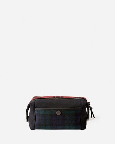 TARTAN TRAVEL POUCH, BRODIE/BLACK WATCH, large