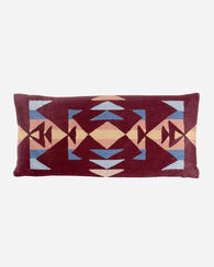 TRAIL CREWEL EMBROIDERED OBLONG PILLOW
