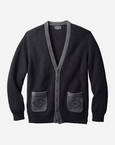 MEN'S NOVELTY POCKET CARDIGAN