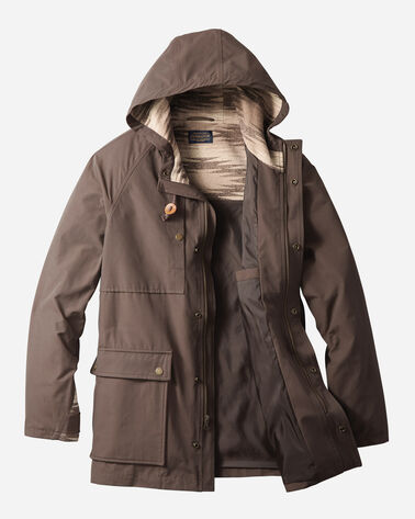 ADDITIONAL VIEW OF MEN'S MAGIC VALLEY PARKA IN BROWN