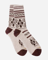 WESTERLEY CAMP SOCKS IN BROWN