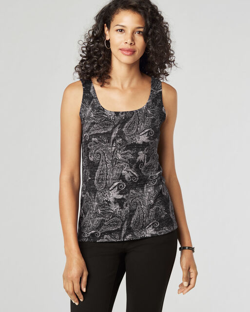 PAISLEY TANK TOP, , large