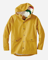 KIDS' LONG BEACH RAINCOAT IN YELLOW