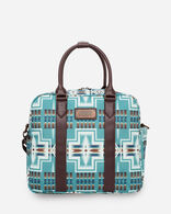 HARDING WEEKENDER BAG IN AQUA