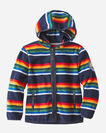 KIDS' CRATER LAKE FLEECE ZIP HOODIE IN NAVY