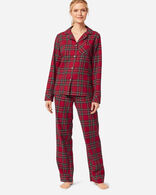 WOMEN'S FLANNEL PAJAMA SET