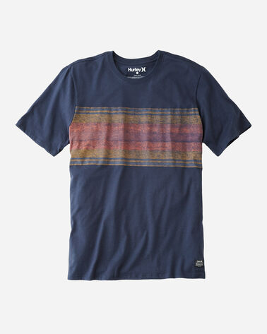 HURLEY X PENDLETON PARK STRIPE TEE, GRAND CANYON NAVY, large