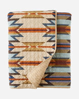 WYETH TRAIL COVERLET SET IN CAMEL