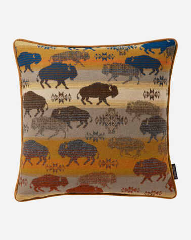 LAND OF THE BUFFALO PILLOW, , large