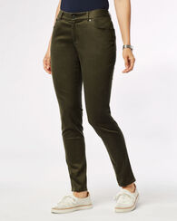 MALIN PANTS, DARK MOSS, large
