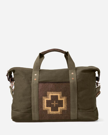 SHELTER BAY WEEKENDER BAG IN BROWN