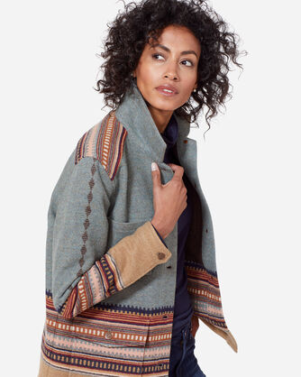 WESTERN HORIZONS COAT, AMERICAN WEST BLUE, large