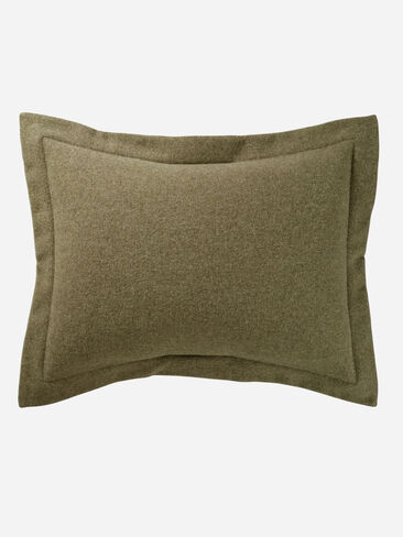 ECO-WISE WOOL EASY-CARE SHAM IN CAPER