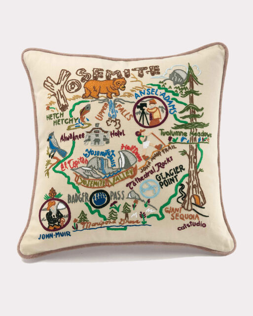 YOSEMITE PILLOW, MULTI, large