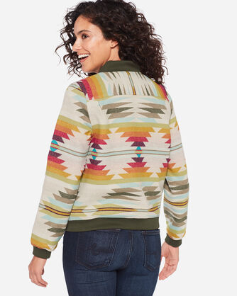 PACIFIC WOOL BOMBER JACKET, , large