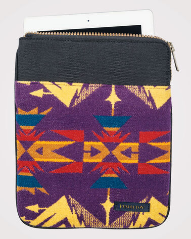 ECHO PEAKS TABLET POUCH, PURPLE, large
