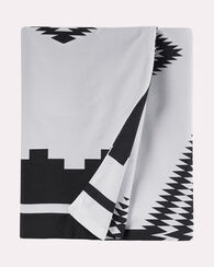 LOS OJOS DUVET COVER SET, WHITE/BLACK, large