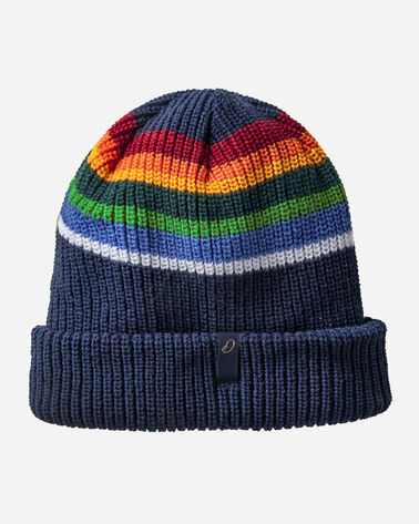 REVERSIBLE NATIONAL PARK STRIPE BEANIE