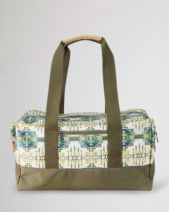 ALTERNATE VIEW OF PILOT ROCK CANOPY CANVAS WEEKENDER BAG IN OLIVE