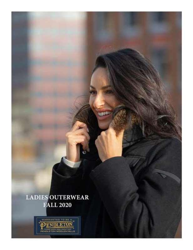 Pendleton Fall 2020 Women's Outerwear Lookbook