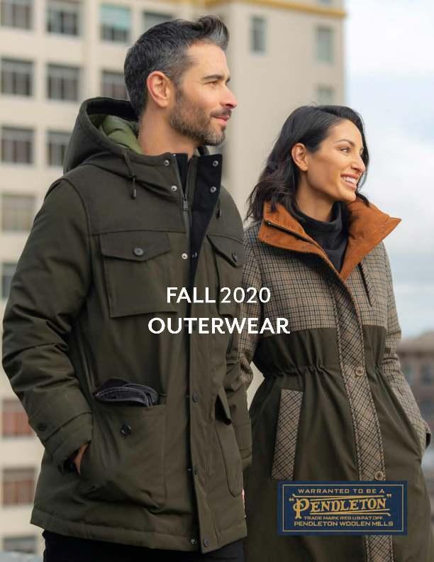 Pendleton Fall 2020 Outerwear Lookbook