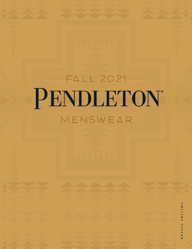 Pendleton Men's Fall 2021 Linebook