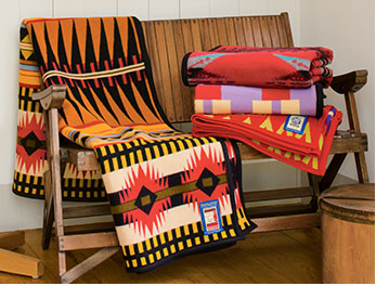 Pendleton Woolen Mills, Trading Blankets
