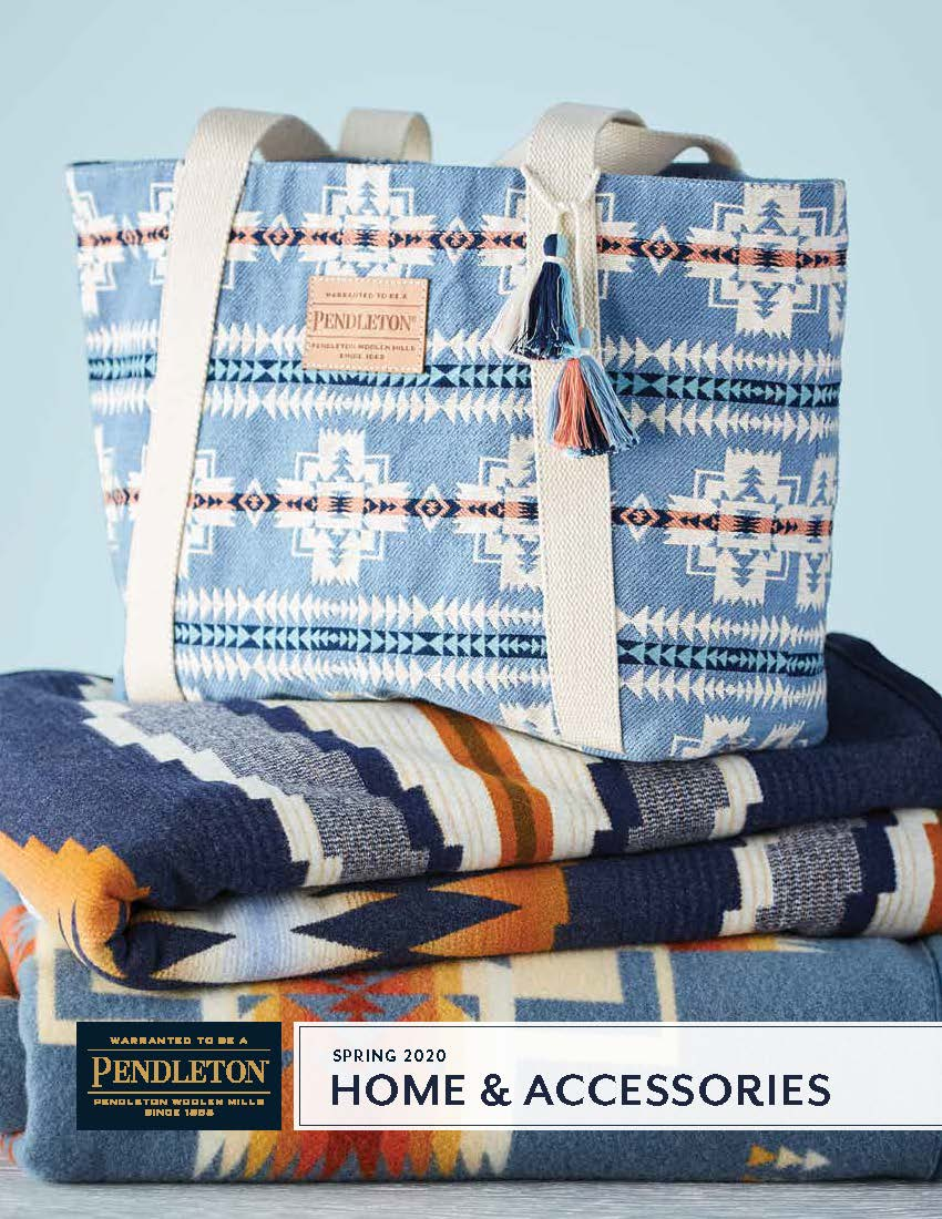 Pendleton Home and Accessories Spring 2020 Linebook