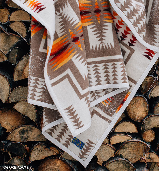 chief joseph wool blanket