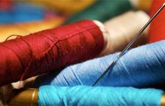 Spools of Pendleton Yarn