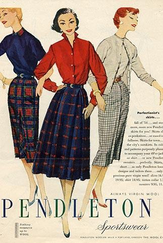 Pendleton Woolen Mills, company history