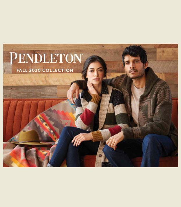 Pendleton Men's and Women's Fall 2020 Lookbook