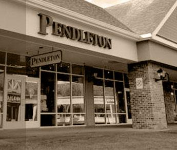 Pendleton Outlet Store Exterior