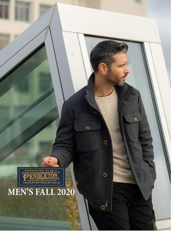 Pendleton Fall 2020 Men's Outerwear Linebook