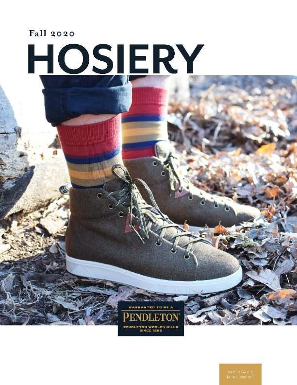 Pendleton Hosiery Fall 2020 Linebook