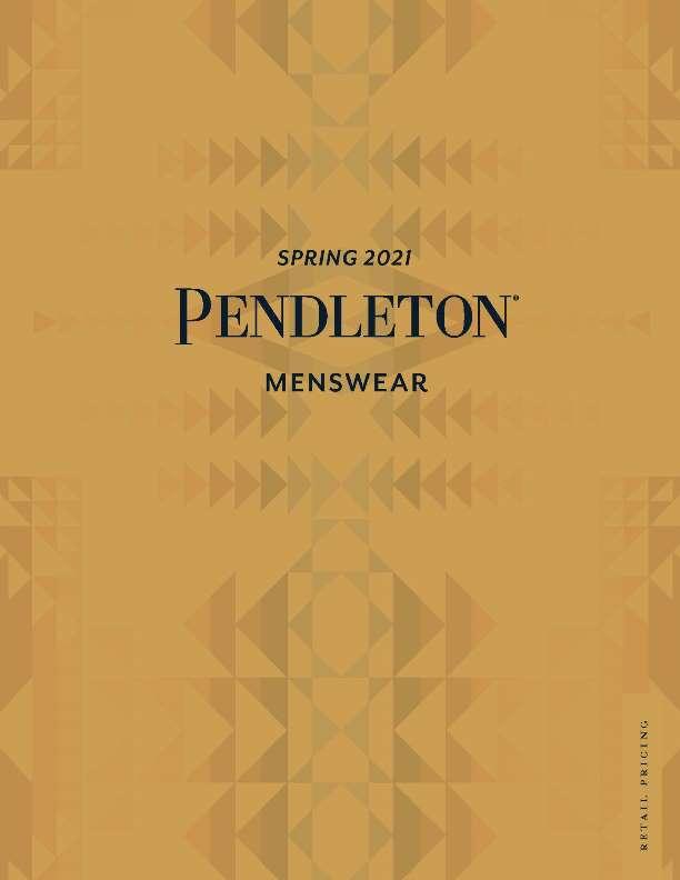 Pendleton Men's Spring 2021 Linebook