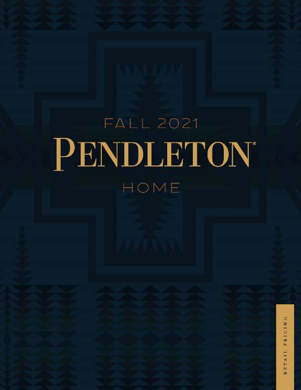 Pendleton Home 2021 Linebook