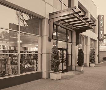 Pendleton Home Store Exterior