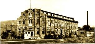 Pendleton Mill Exterior circa 1909