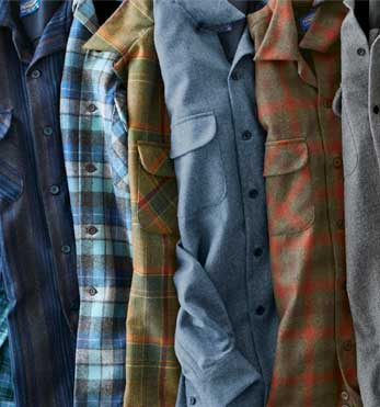 Different Patterns of the Men's Board Shirt